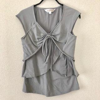 スウィートマミー 授乳服 グレー(マタニティトップス)