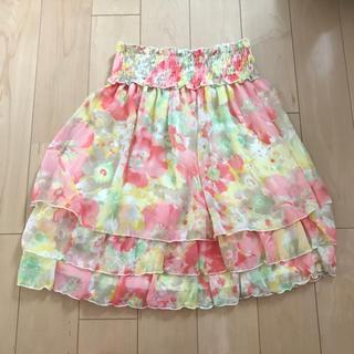 INGNI イング 花柄スカート