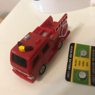 マクドナルド(マクドナルド)のトミカ マクドナルド 消防車 2018 電池交換済み(ミニカー)