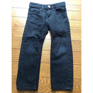 エイチアンドエム(H&M)のH&M 98cm ブラックデニム ジーンズ パンツ(パンツ/スパッツ)