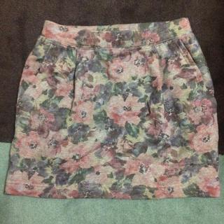 美品  ジャーナルスタンダード 花柄スカート