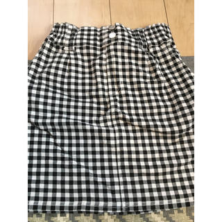 HONEYS gingham checkタイトスカート