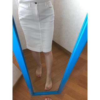 UNIQLO 定番白スカート