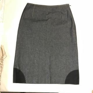 DUAL  VIEWデニムスカート、サイズ42