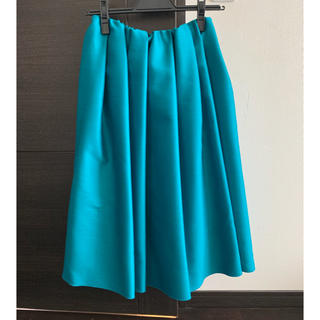 デミルクスビームス(Demi-Luxe BEAMS)のデミルクスビームス ロイヤルグリーン36(ひざ丈スカート)