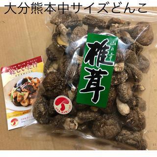 大分熊本【原木】干し椎茸 中サイズどんこ200g
