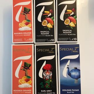 ネスレ(Nestle)のネスレ スペシャルT カプセル (茶)