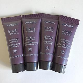 AVEDA [invati]shampoo&conditioner 10ml×4