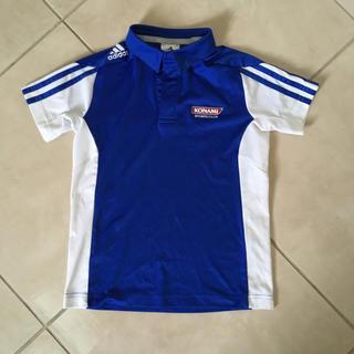 アディダス(adidas)のコナミ キッズ ポロシャツ 130(Tシャツ/カットソー)