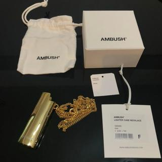 AMBUSH アンブッシュのライターケース ネックレス