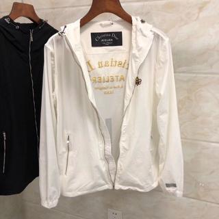 CHRISTIAN DIOR薄いジャケット日焼け防止衣メンズMサイズホワイト