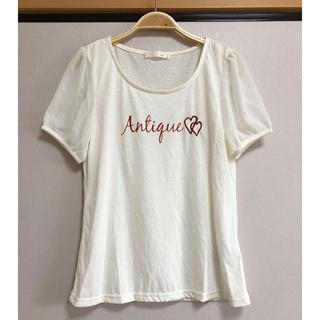 アロー(ARROW)の新品 ARROW 刺繍Tシャツ 半袖カットソー 伸縮性がある(Tシャツ(半袖/袖なし))