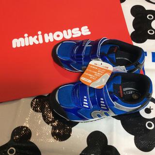 ミキハウス(mikihouse)の新品 ミキハウス ミズノコラボ 靴 スニーカー 19、5cm(スニーカー)