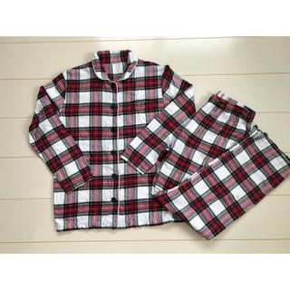 ジーユー(GU)のチェックパジャマ 155-164 (パジャマ)