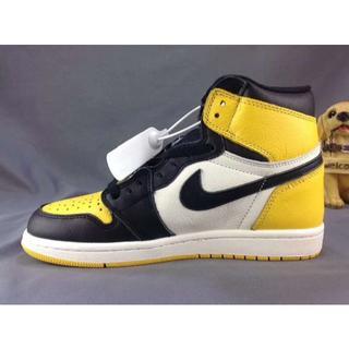 新品 27cm Nike AIRJORDAN1 LOW yellow