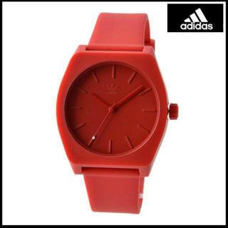 アディダス(adidas)のadidas 時計 赤(腕時計)
