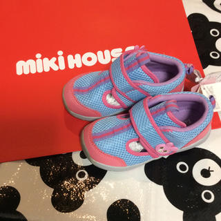 ミキハウス(mikihouse)の新品 ミキハウス サンダル 靴 17cm(サンダル)
