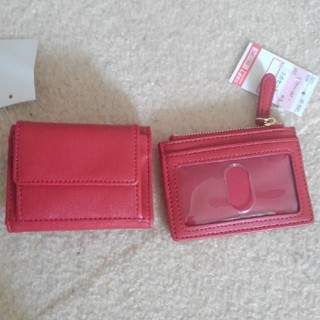 シマムラ(しまむら)のしまむら☆パスケース、財布セット☆新品(財布)
