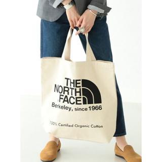 ザノースフェイス(THE NORTH FACE)のTHE NORTH FACE ☆オーガニック コットントートバッグ♪(トートバッグ)