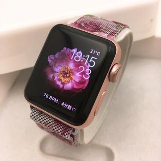 アップルウォッチ(Apple Watch)の販売終了色 Apple Watch series2 Rose Gold(その他)
