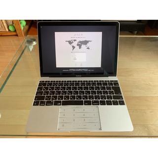 アップル(Apple)のMacBook 2017 i7 16GB 512GB(ノートPC)