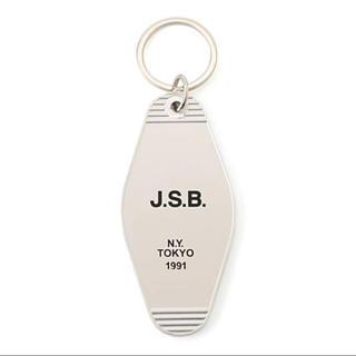 サンダイメジェイソウルブラザーズ(三代目 J Soul Brothers)のJSB ロゴキーホルダー silver 1個(ミュージシャン)