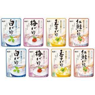 まごころ一膳 富士山の銘水で炊きあげたおかゆ 4種×2袋(米/穀物)
