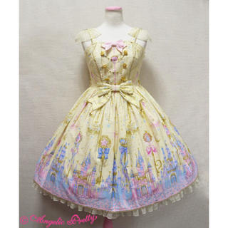 アンジェリックプリティー(Angelic Pretty)のMagic princess ジャンバースカートアンジェリックプリティ(ひざ丈ワンピース)