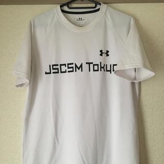 アンダーアーマー(UNDER ARMOUR)のアンダーアーマー 白Tシャツ メンズS(Tシャツ/カットソー(半袖/袖なし))