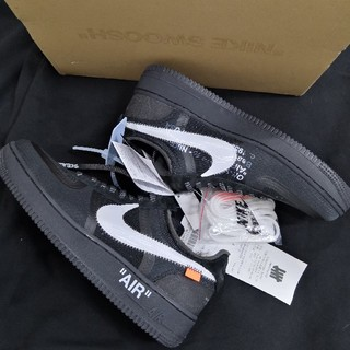 ナイキ(NIKE)のOFF-WHITE NIKE THE 10 AIR FORCE 1 LOW(スニーカー)