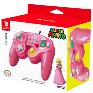 ニンテンドースイッチ(Nintendo Switch)のホリ クラシックコントローラー for Nintendo Switch ピーチ(家庭用ゲーム本体)