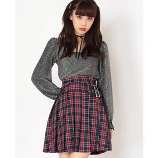 Ank Rouge - チェックプリーツスカート