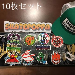 シュプリーム(Supreme)のスケートブランド ステッカーセット(スケートボード)