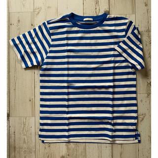 ジーユー(GU)のGU ボーダー Tシャツ(Tシャツ/カットソー)