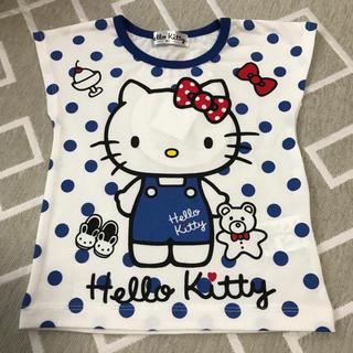 シマムラ(しまむら)のハローキティー水玉ベビーTシャツ 80(Tシャツ)