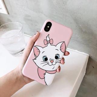 Disney - おしゃれキャット マリー 可愛い携帯ケース iPhoneケース アイフォンケース