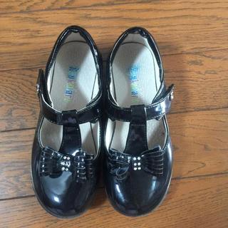 フォーマルシューズ 女の子 フォーマル靴 黒 エナメル(フォーマルシューズ)