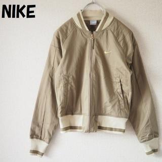 ナイキ(NIKE)の【人気】NIKE/ナイキ ジップアップブルゾン ブラウン サイズS レディース(ブルゾン)