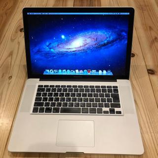 アップル(Apple)の021 Macbook Pro 15inch Late2011(ノートPC)