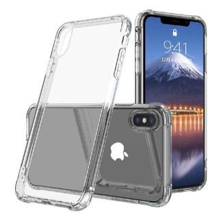 アイフォーン(iPhone)のiPhone アイフォン X アイフォン XS ケース クリア TPU 透明(iPhoneケース)