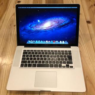 アップル(Apple)の022 【pasha様専用】Macbook Pro 15inch Mid2012(ノートPC)