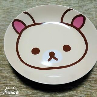 コリラックマ お皿 皿 食器 リラックマ ローソン ノベルティー 新品 未使用(食器)