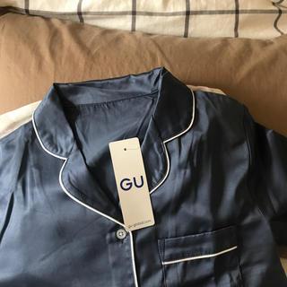 ジーユー(GU)のGU サテン パジャマ ワンピース(パジャマ)