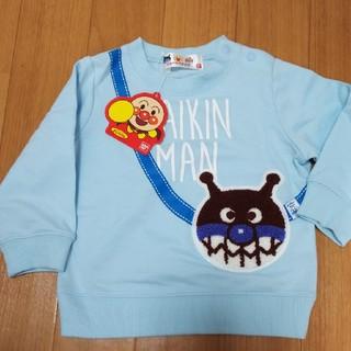 アンパンマン(アンパンマン)の新品 ばいきんまん 長袖Tシャツ 長袖トレーナー 80(トレーナー)