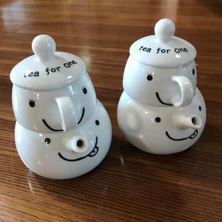 tea for one ティーポット&ティーカップ 2個セット(食器)