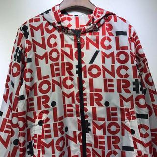 モンクレール(MONCLER)の美品 Moncler 19ss春英字のプリントのジャケット(ブルゾン)