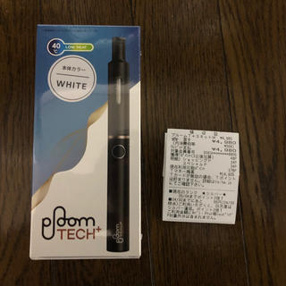 プルームテック(PloomTECH)の【新品未開封】Ploom TECH+(プルームテックプラス)白(タバコグッズ)