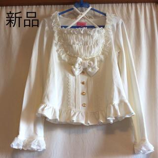 アンジェリックプリティー(Angelic Pretty)の新品タグ無し カットソー ホワイト(カットソー(長袖/七分))