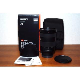 ソニー(SONY)の【美品】FE 24-70mm f2.8 GM (レンズ(ズーム))