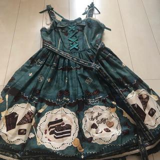 アンジェリックプリティー(Angelic Pretty)のAngelic Pretty Antique Chocolaterie セット(ひざ丈ワンピース)